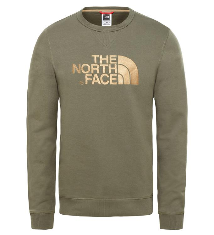 The North Face M DREW PEAK CREW LHT NEW TAUPE GREEN