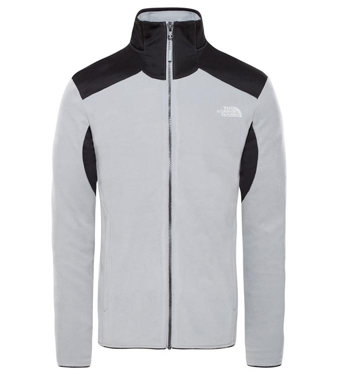 The North Face M PURNA II JACKET MID GREY/TNF BL