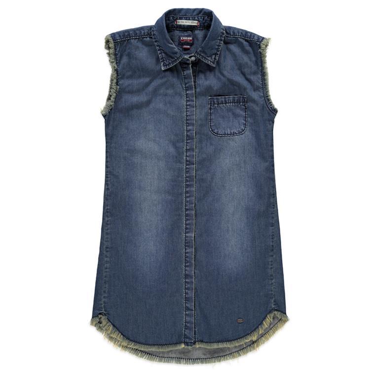 Blue Rebel SPOT ON - long shirt short sleeve - Enzyme wash - betties