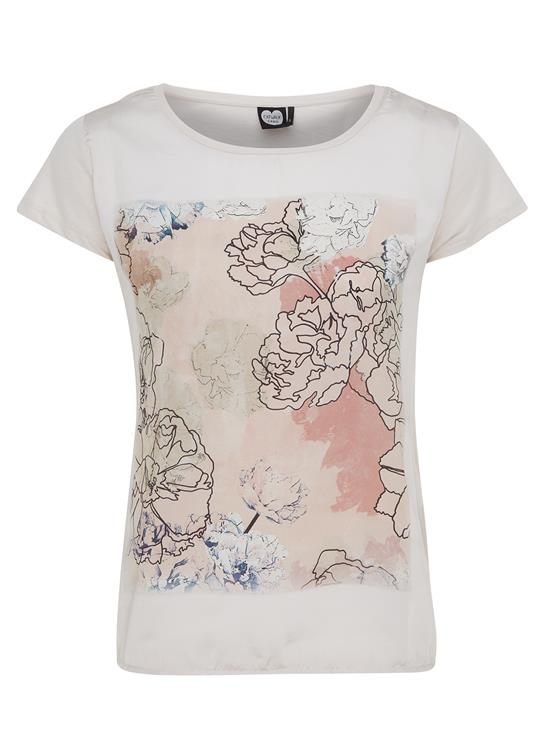 Catwalk Junkie  T-Shirt  Lined Flower