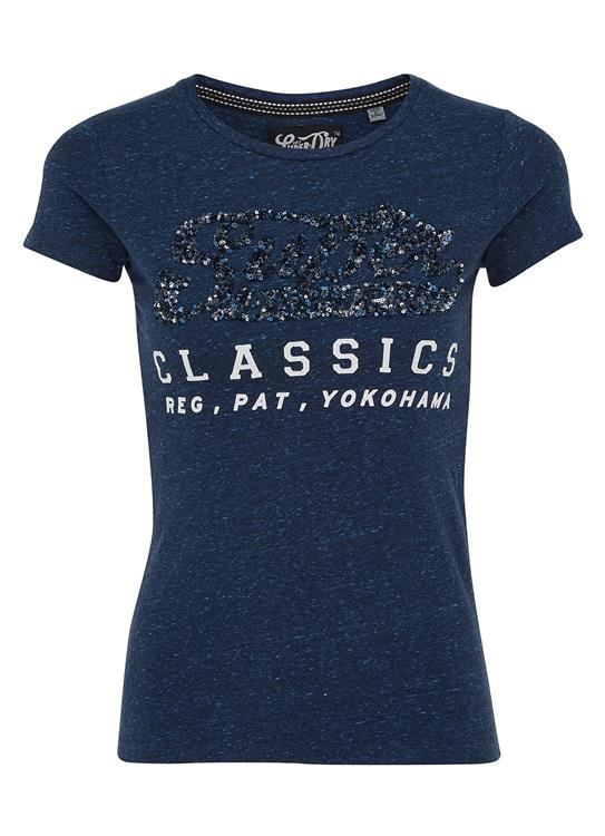 Superdry T-shirt Classics Sequin