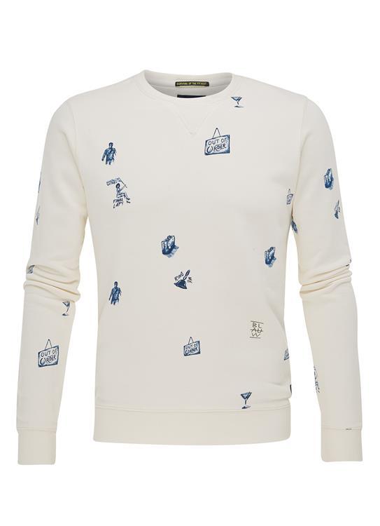 Amsterdams Blauw Sweater Print