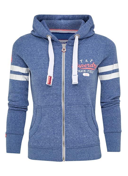 Superdry Sweater Track & Field Zip