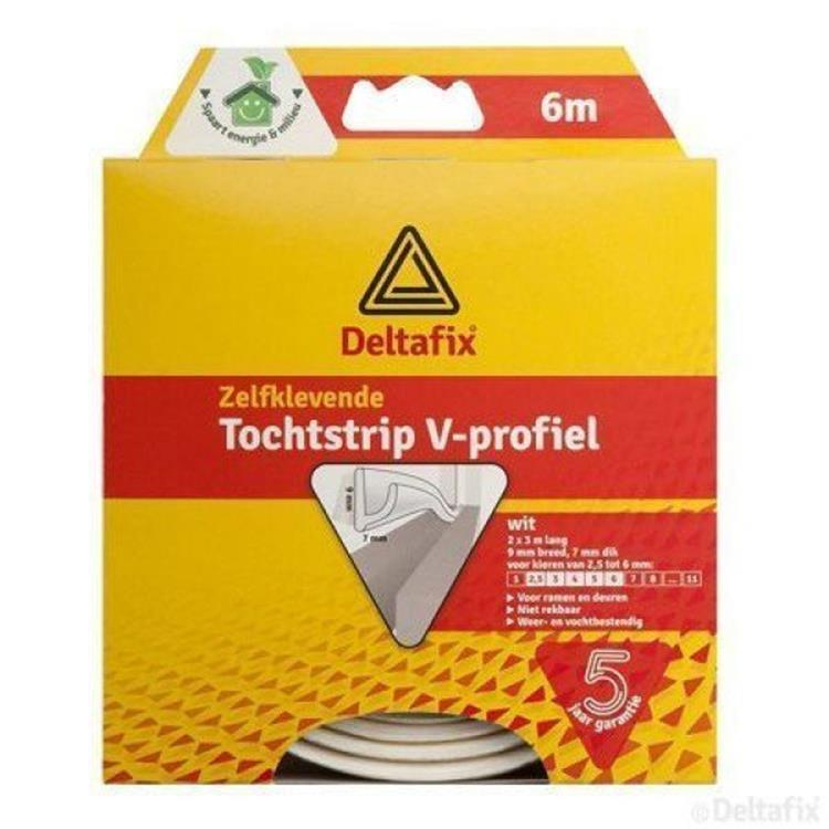 TOCHTSTRIP V-PROFIEL
