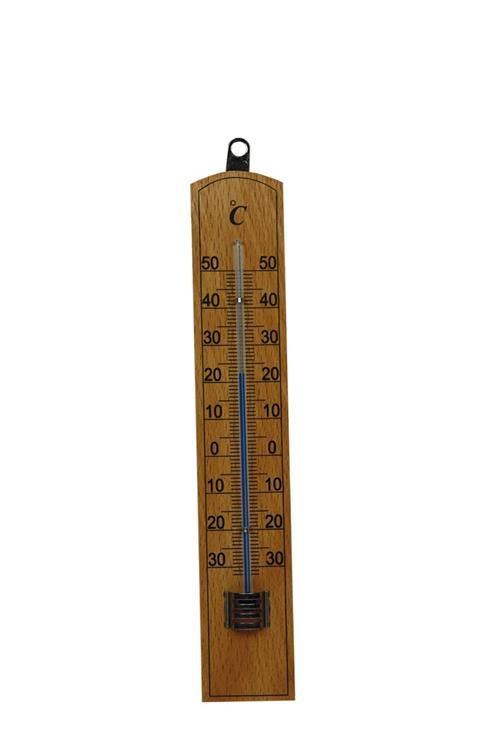 Thermometer Hout 20Cm