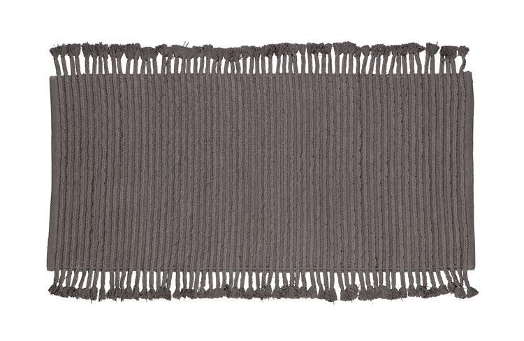 Mink Vloerkleed Katoen Antraciet 170x240