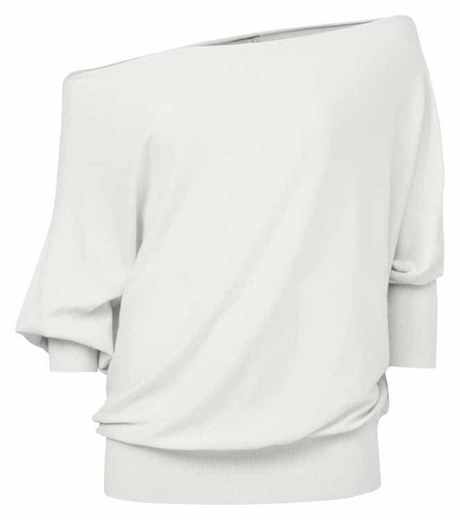 YAYA Sweater Off-shoulder 004094-721N