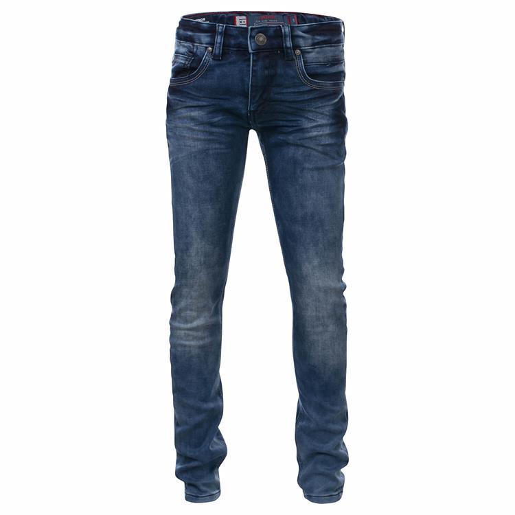 Blue Rebel Minor - comfy skinny fit - Blue wash - dudes