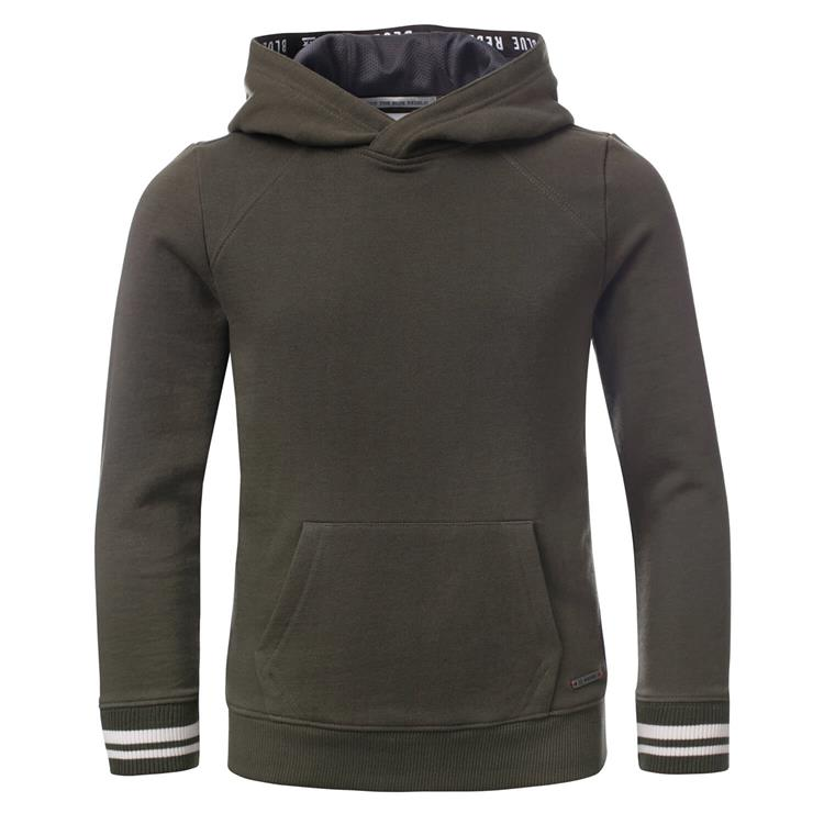 Blue Rebel - hooded sweater - Army - dudes