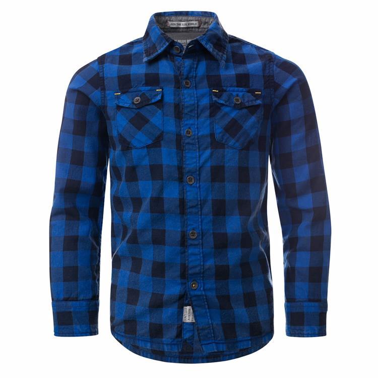 Blue Rebel - shirt - Navy - dudes