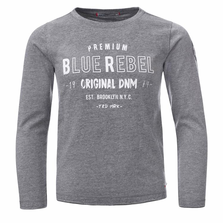 Blue Rebel - T-shirt - Grey melange - dudes