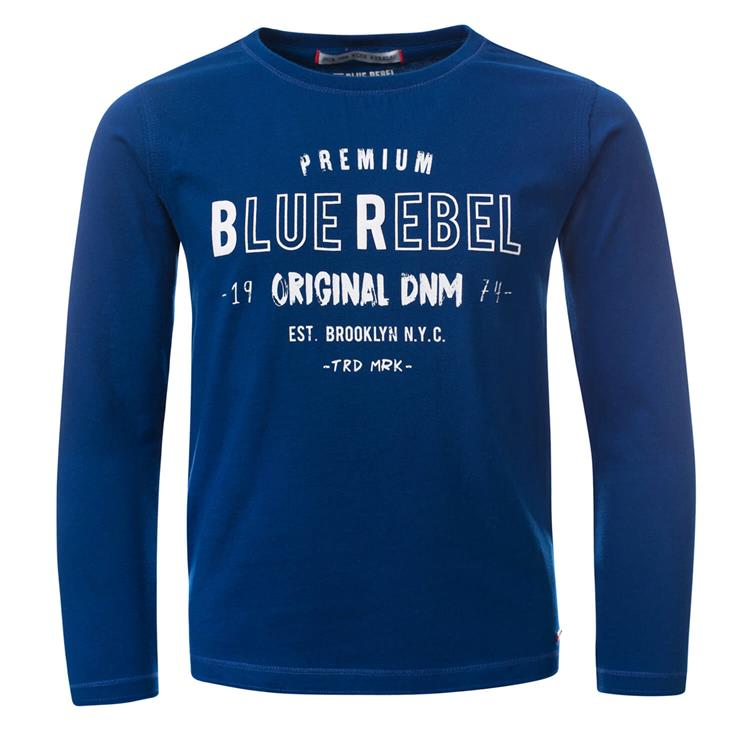 Blue Rebel - T-shirt - Deep blue - dudes
