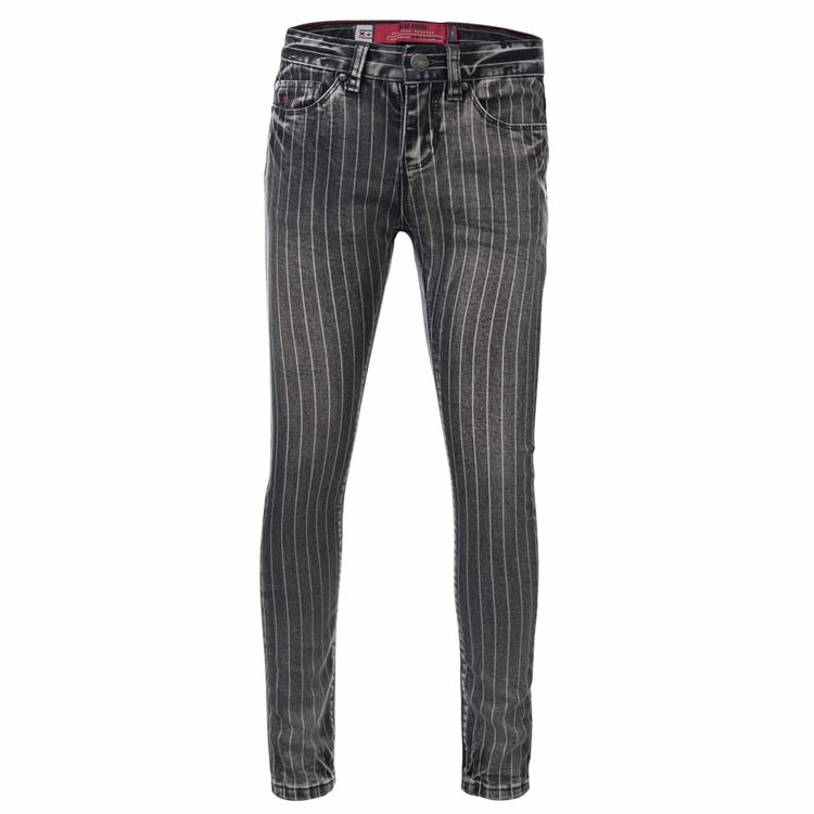 Blue Rebel Highrise - skinny fit - Black stripe - betties