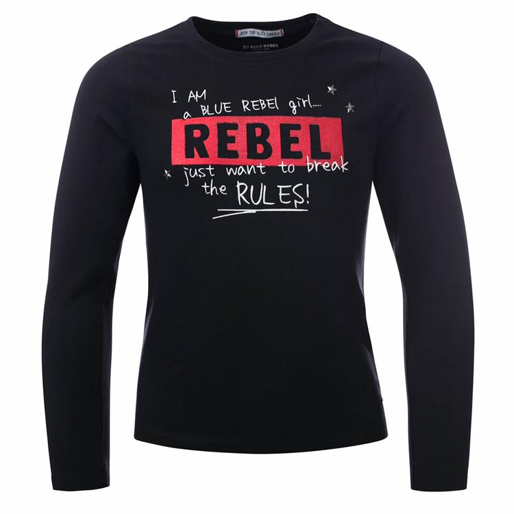 Blue Rebel - T-shirt - Black - betties