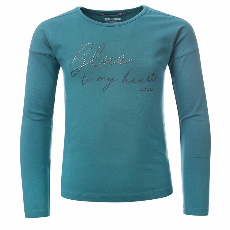 Blue Rebel - T-shirt - Moss - betties