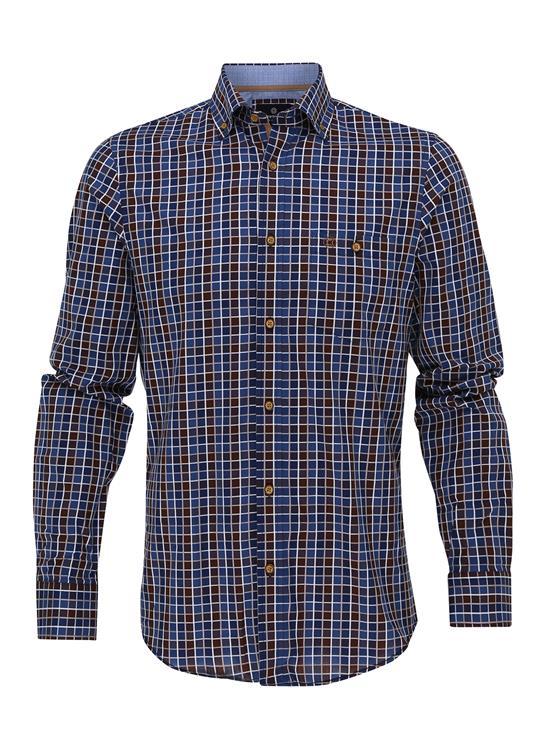 Fellows Overhemd Check