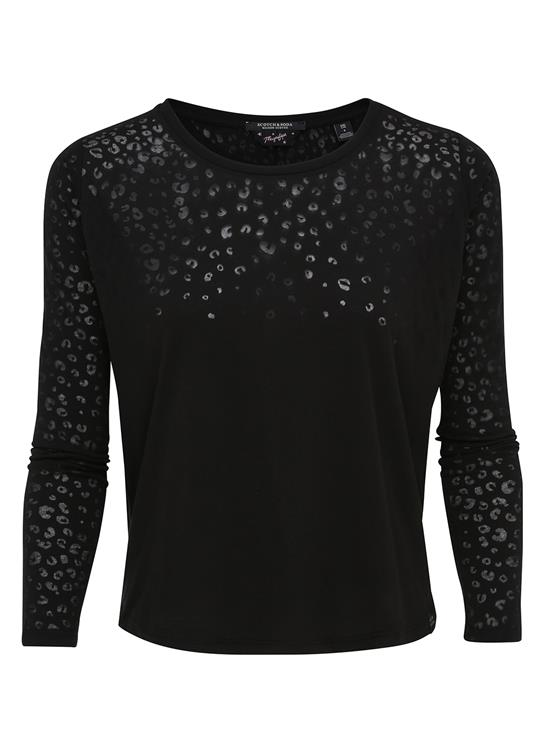 Maison Scotch T-Shirt LS Animal