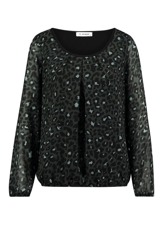 In Shape Blouse Animalprint