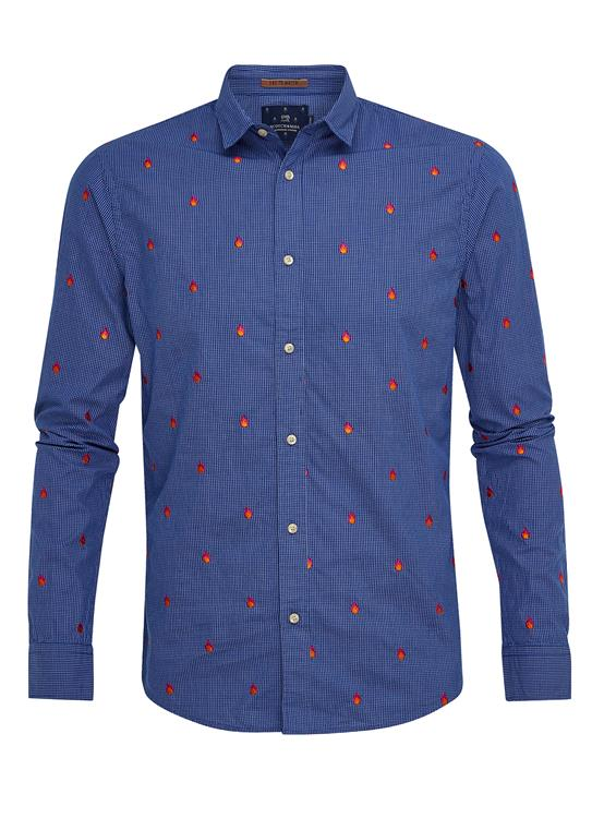 Scotch & Soda Overhemd Embroidery