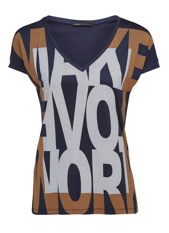 Expresso T-shirt V-Neck Huibje