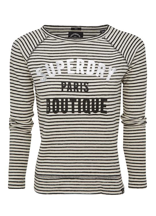 Superdry T-Shirt Amour Stripe