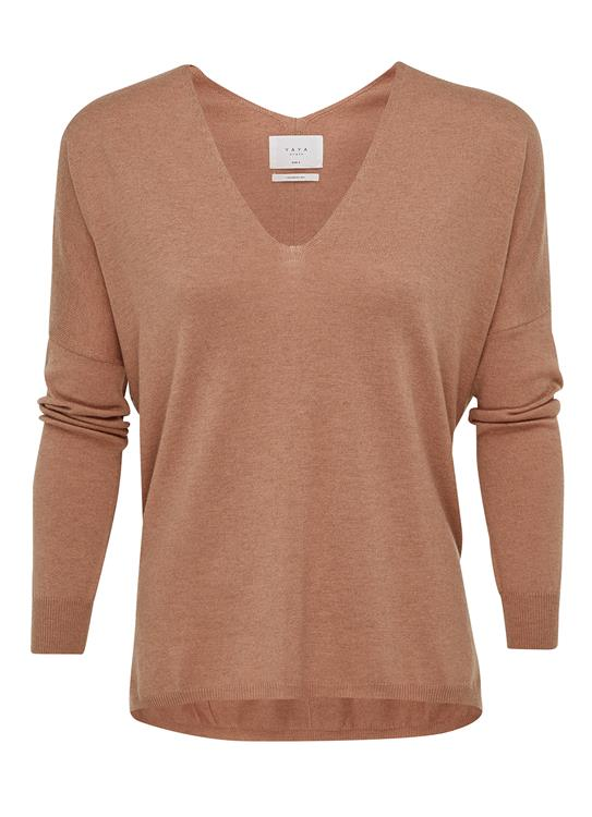 YAYA Sweater V-Neck 004125-722