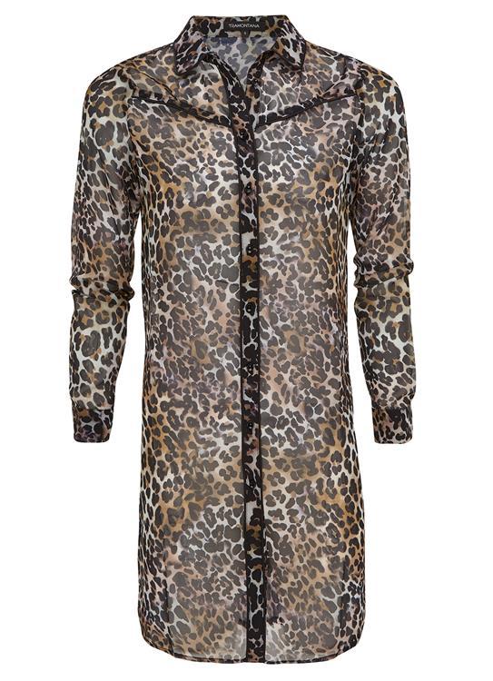 Tramontana Blouse Leopard