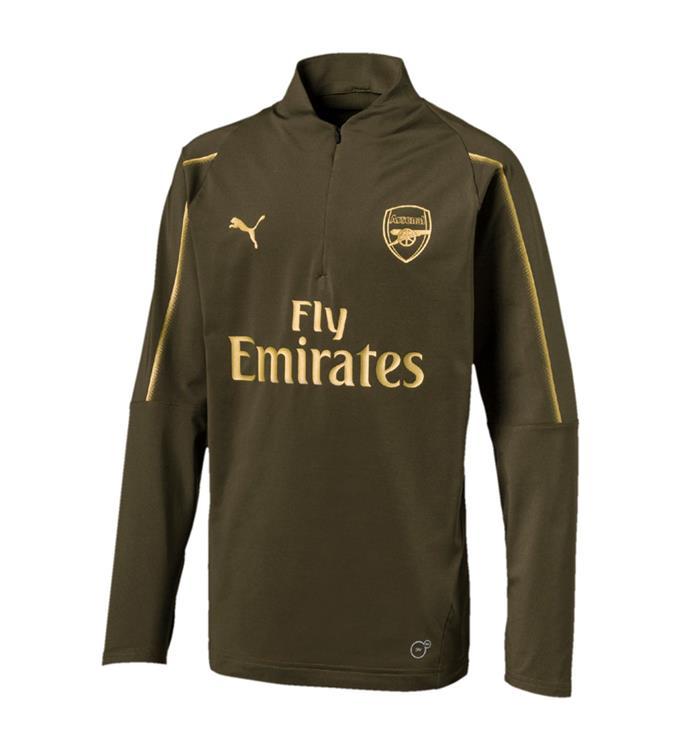 Puma Arsenal FC 1/4 Zip TOP KIDS with EPL sponsor Logo