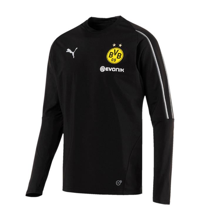 Puma BVB Training Sweat with Sponsor Logo