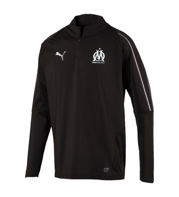 Puma Olympique de Marseille 1/4 Zip Top without sponsor Logo