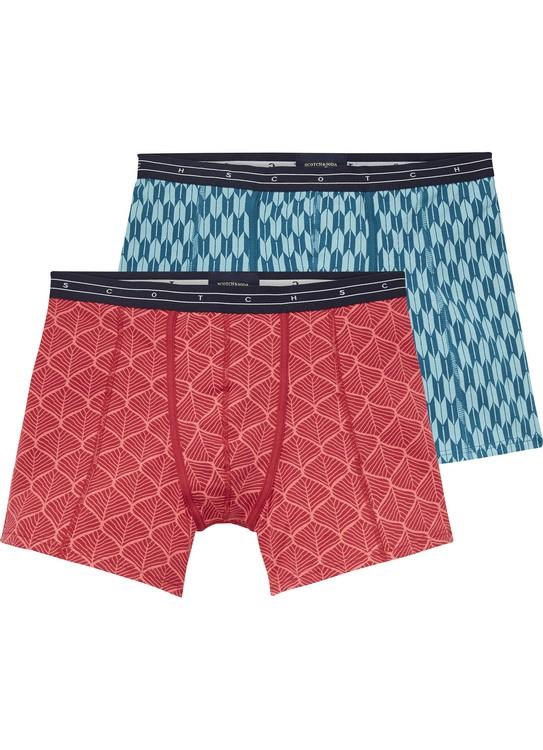 Boxer with multicolour all-over print