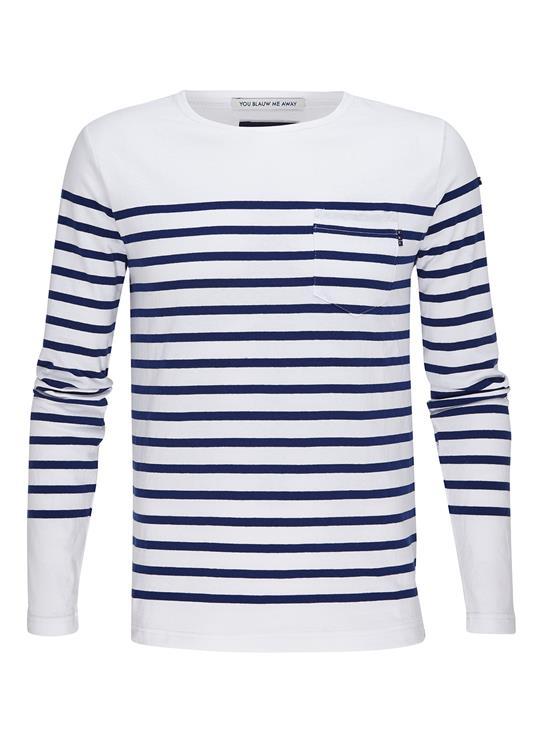 Amsterdams Blauw T-Shirt Bretton
