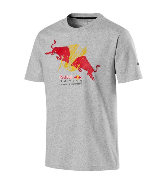 Puma Red Bull Racing Double Bull T shirt M