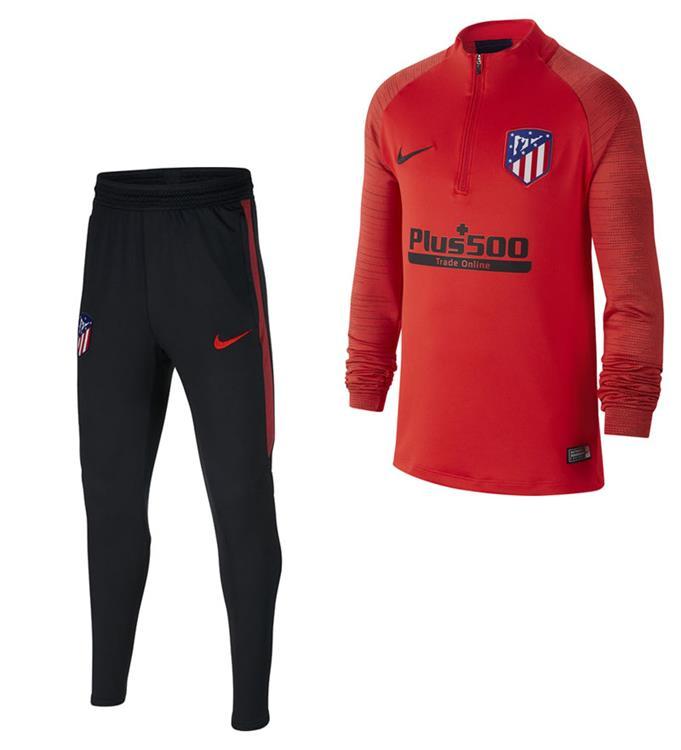 Nike SET Atletico Madrid Trainingspak 2019-2020 Y