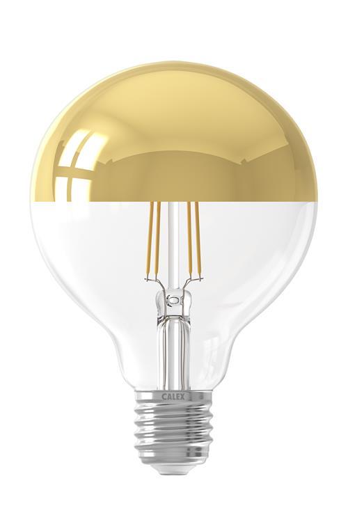 Calex LED filament dimbaar Globekopspiegellamp