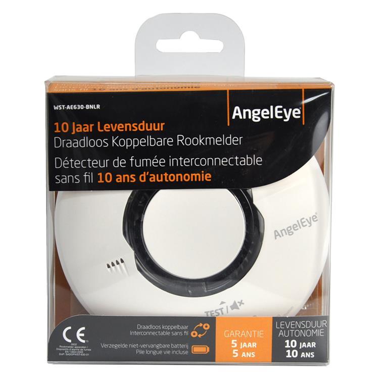 Angeleye rookmelder koppelbaar thermoptek 10 jaar