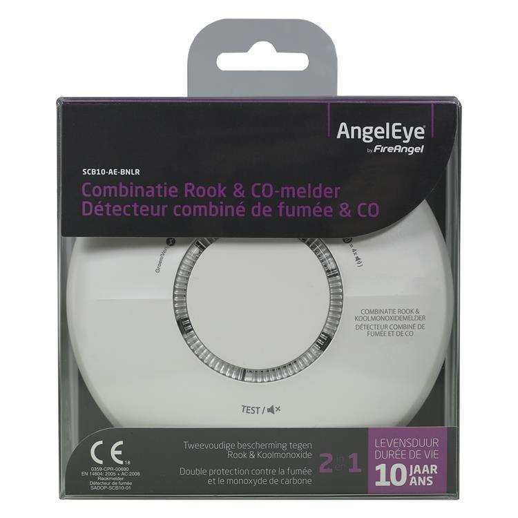 Angeleye combimelder rookmelder/koolmonoxidemelder 10 jaar