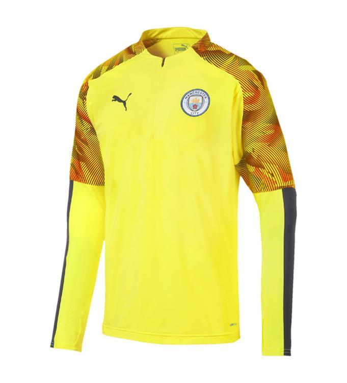 Puma Manchester City FC 1/4 Zip Top 2019/2020 M