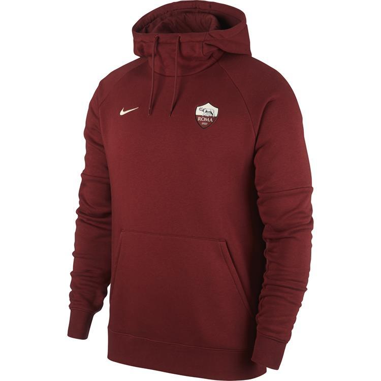 Nike AS Roma Fleece Pullover Hoodie 2019/2020 M