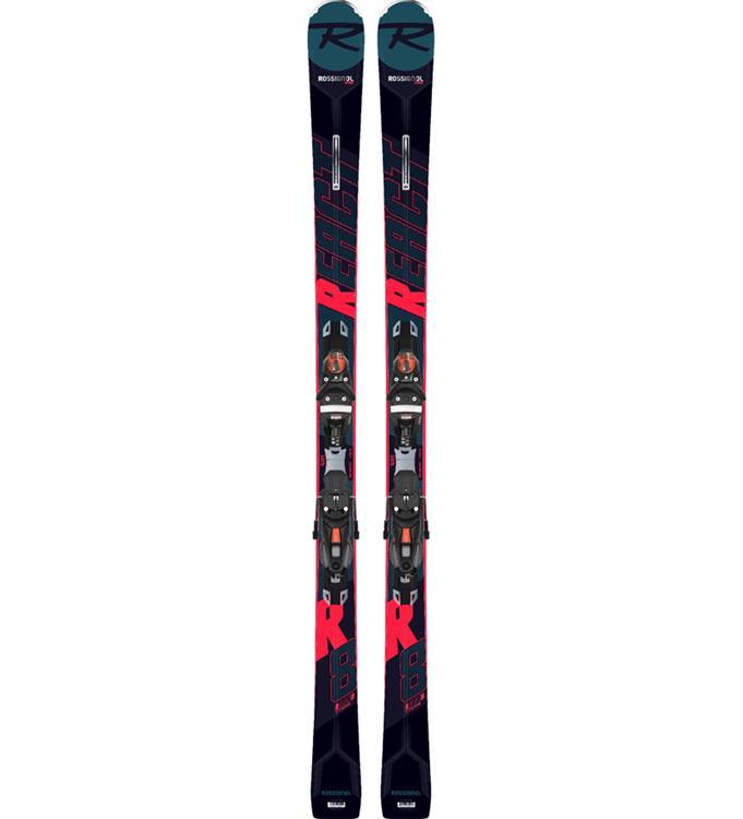 Rossignol REACT R8 TI/NX12 K.GW BK/RED Ski's
