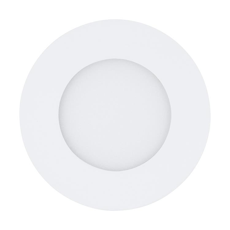 Led inbouwspot Fueva 3W wit diameter 85mm