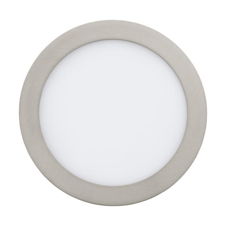 Led inbouwspot Fueva 16W rvs diameter 225mm