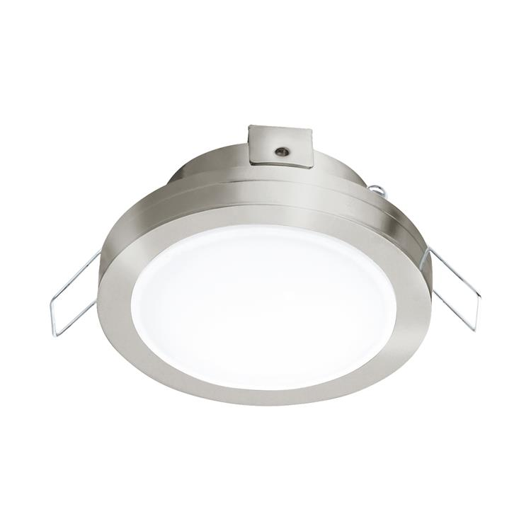 Led inbouwspot Pineda rvs diameter 82mm