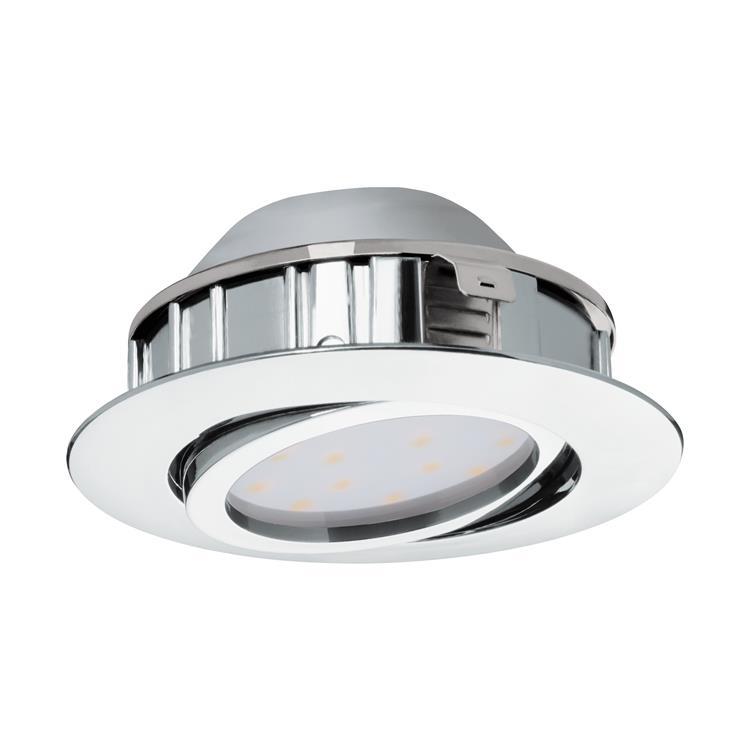Led inbouwspot Pineda chroom diameter 84mm