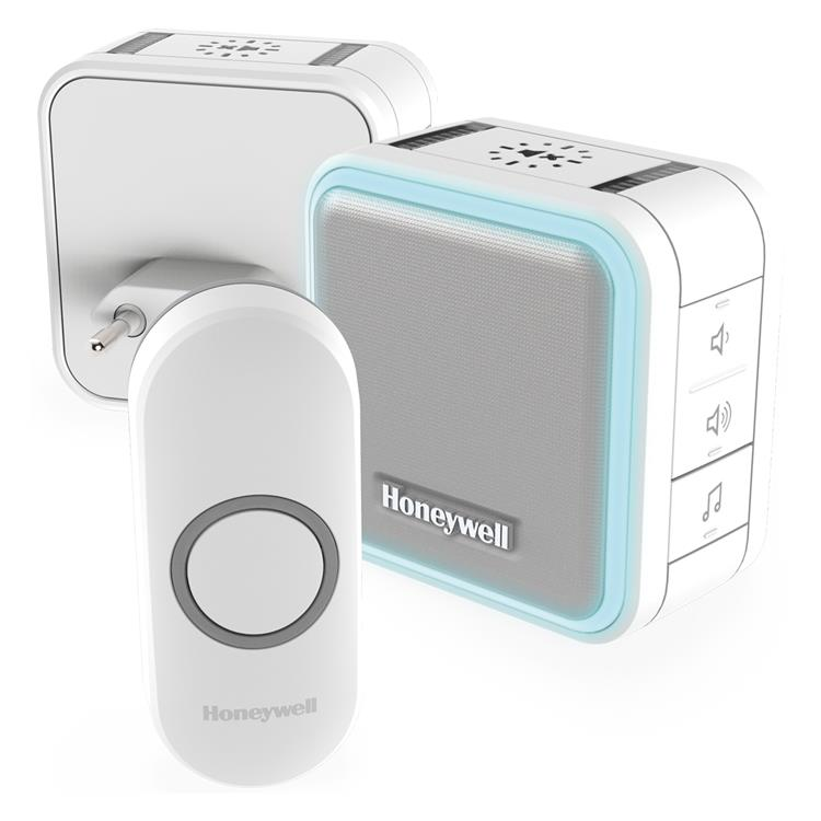 Honeywell draadloze plug-in deurbel DC515NHGP2