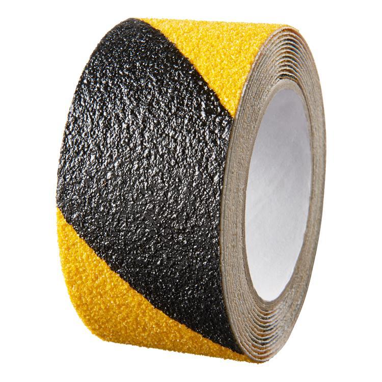 Rol Anti Slip Tape 50mmx3Mtr Zwart/Geel