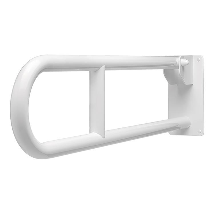 Toiletbeugel Opklapbaar Wit L80 cm