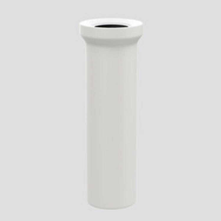Plieger closetaansluiting recht 110x400mm wit