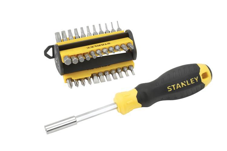 Stanley multi schroevendraaierset