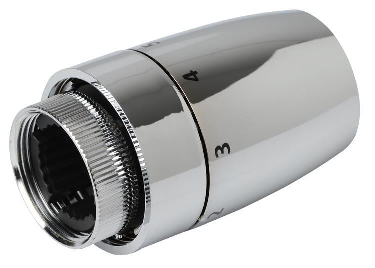 Plieger radiatorknop thermostatisch design M30x1,5